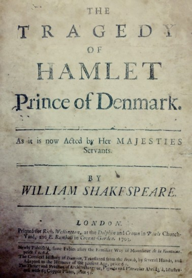 "Carl gave Lafe a 1703 edition of Shakespeare's ""Hamlet,"" published in London. The page numbers in Carl's inscription match the locations of the four passages recorded in the handwritten pages. Did Carl find some of young Lafe's writing done after ""90 minutes spent with Shakespeare,"" and surprise him with it in this gift, years later? We may never know . . . but it's a reminder that all of these objects have amazing human stories and meaning behind them!"