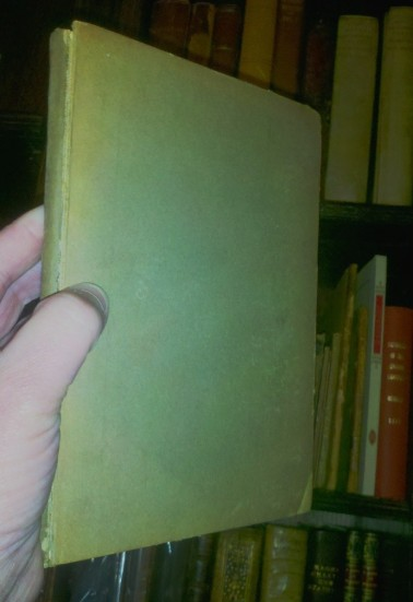 High on an out-of-the-way shelf in the Salisbury House Library is a slender, unmarked book that has been rebound in plain, manilla-colored cardboard. What could it be?