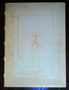 "Front cover ""alpha"" on the Oxford Lectern Bible"