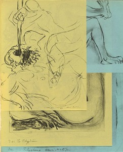 "Matisse's ""Polyphemus"" from LEC edition of James Joyce's ""Ulysses."" (click to enlarge)"