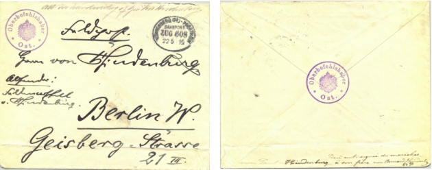 Hindenburg envelope combined