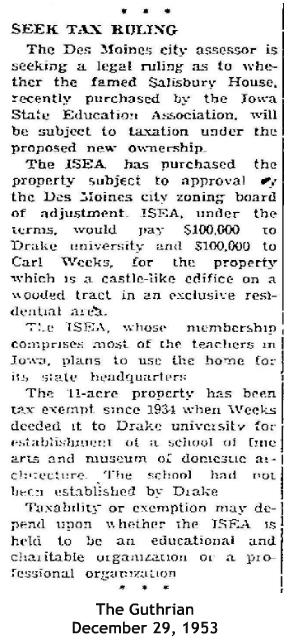 1953 ISEA tax