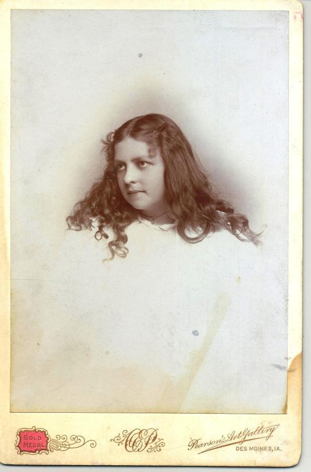 1885s Edith Van Slyke Weeks c. 1885