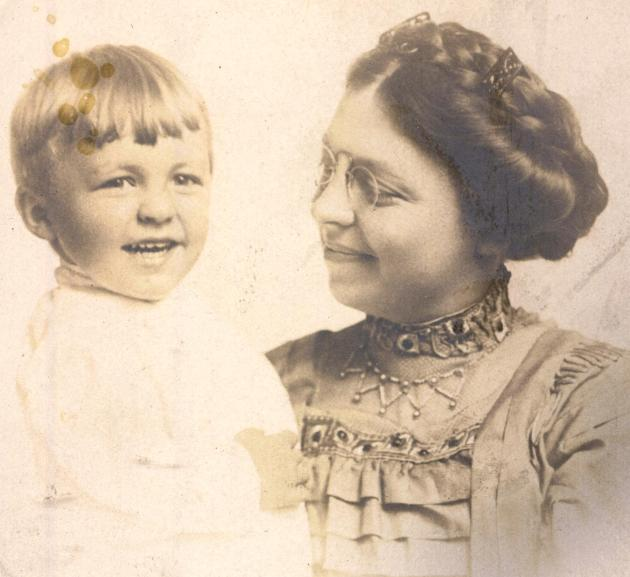 1910 Edith and...