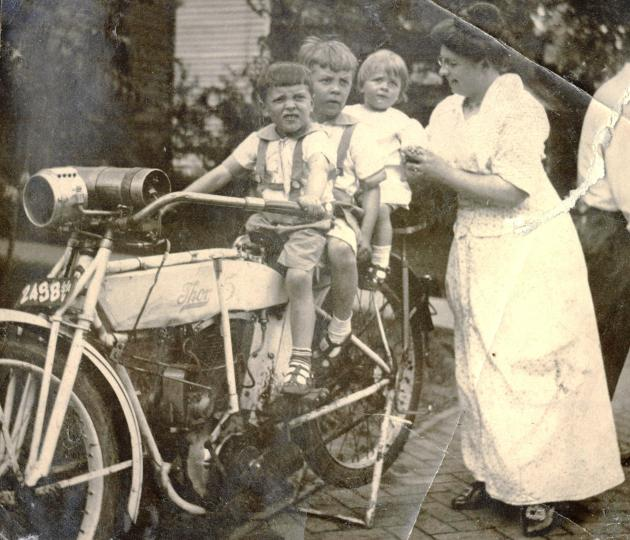 1913s Edith.boys.motorcycle