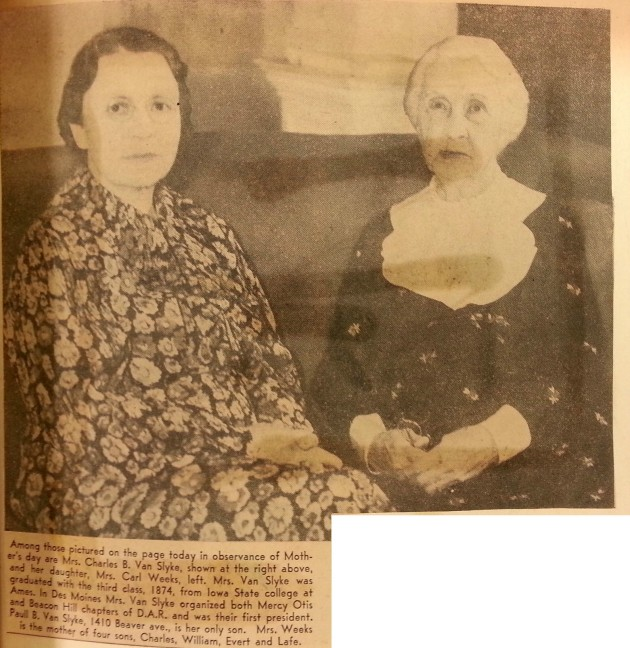 1935 with Mom