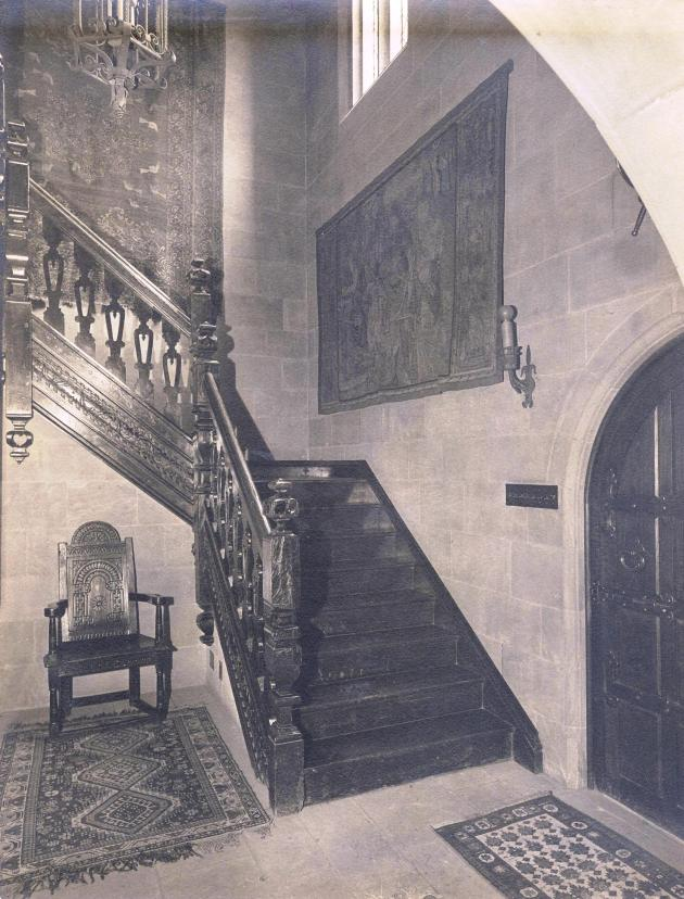 Main staircase hall