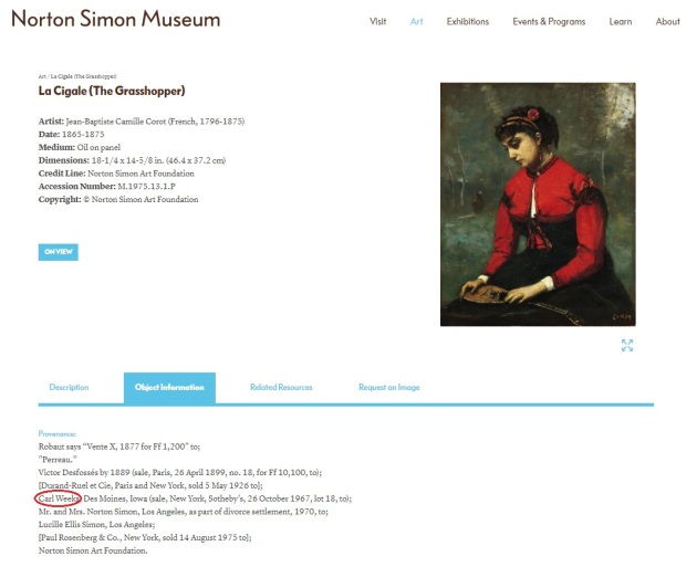 Norton Simon entry_Corot